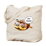 Happy Hanukkah Donuts Tote Bag