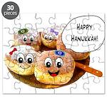 Happy Hanukkah Donuts Puzzle