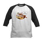 Happy Hanukkah Donuts Kids Baseball Jersey