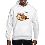 Happy Hanukkah Donuts Hooded Sweatshirt