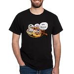 Happy Hanukkah Donuts Dark T-Shirt