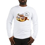 Happy Hanukkah Donuts Long Sleeve T-Shirt