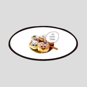 Chanukah Sameach Donuts Patches