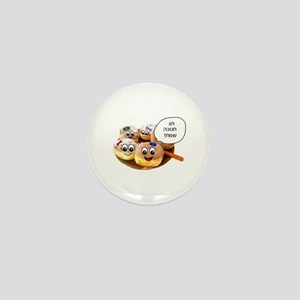 Chanukah Sameach Donuts Mini Button