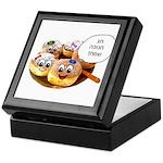 Chanukah Sameach Donuts Keepsake Box