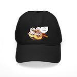 Chanukah Sameach Donuts Black Cap