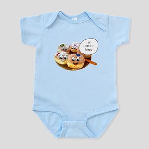 Chanukah Sameach Donuts Infant Bodysuit