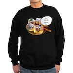 Chanukah Sameach Donuts Sweatshirt (dark)