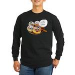 Chanukah Sameach Donuts Long Sleeve Dark T-Shirt