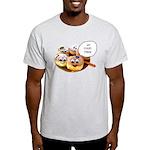 Chanukah Sameach Donuts Light T-Shirt