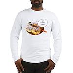 Chanukah Sameach Donuts Long Sleeve T-Shirt