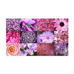 Pink Flowers Photography Coll 38.5 x 24.5 Wall Pee