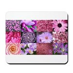 Pink Flowers Photography Coll Mousepad