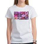 Pink Flowers Photography Coll Women's T-Shirt