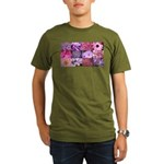Pink Flowers Photography Coll Organic Men's T-Shir