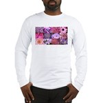 Pink Flowers Photography Coll Long Sleeve T-Shirt