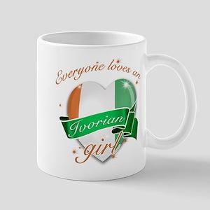 I heart Ivorian Designs Mug