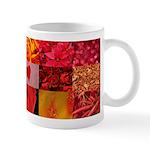 Stylish Red Photo Collage Mug