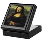 Wooden Mona Lisa Box