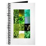 Green Photography Collage Journal