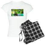 Green Photography Collage Women's Light Pajamas
