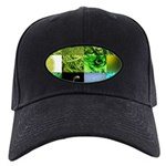 Green Photography Collage Black Cap