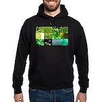 Green Photography Collage Hoodie (dark)