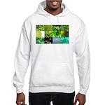 Green Photography Collage Hooded Sweatshirt
