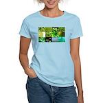 Green Photography Collage Women's Light T-Shirt