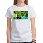 Green Photography Collage Women's T-Shirt