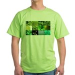 Green Photography Collage Green T-Shirt