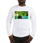 Green Photography Collage Long Sleeve T-Shirt