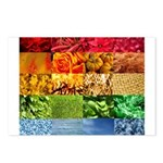 Rainbow Photography Collage Postcards (Package of