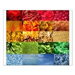 Rainbow Photography Collage Small Poster