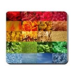 Rainbow Photography Collage Mousepad
