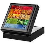 Rainbow Photography Collage Keepsake Box