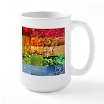 Rainbow Photography Collage Large Mug
