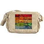 Rainbow Photography Collage Messenger Bag