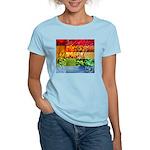 Rainbow Photography Collage Women's Light T-Shirt