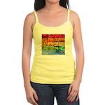 Rainbow Photography Collage Jr. Spaghetti Tank