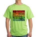Rainbow Photography Collage Green T-Shirt