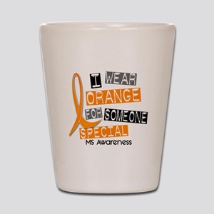 I Wear Orange 37 MS Shot Glass