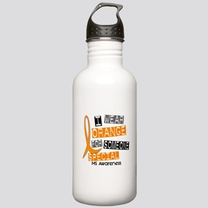 I Wear Orange 37 MS Stainless Water Bottle 1.0L
