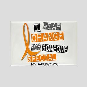 I Wear Orange 37 MS Rectangle Magnet