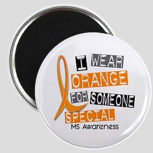 I Wear Orange 37 MS Magnet