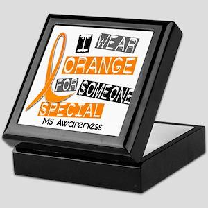 I Wear Orange 37 MS Keepsake Box