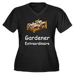 Gardener Extraordinaire 2 Women's Plus Size V-Neck