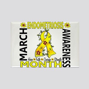 Endo Awareness Month Rectangle Magnet