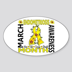 Endo Awareness Month Sticker (Oval)