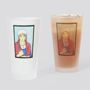 Madame Defarge (color) Drinking Glass